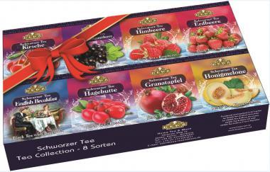 HEWA Schwarzer Tee Collection 8 Sorten