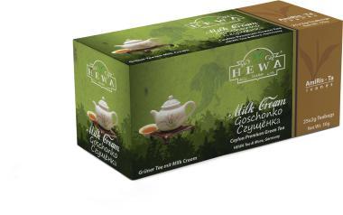 Grüner Tee Milk Cream 25 x 2g