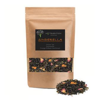 HEWA Grüner Tee Sinderella 200g Nachfüllpack