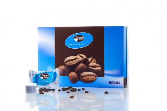 Kaffeekapsel Decaffeinato 30 Stück 0,30 € pro Tasse