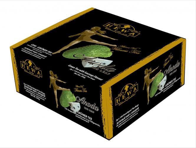 AlteaVit Fitnesstee Anoda 100 x 2g enzeln verpackt