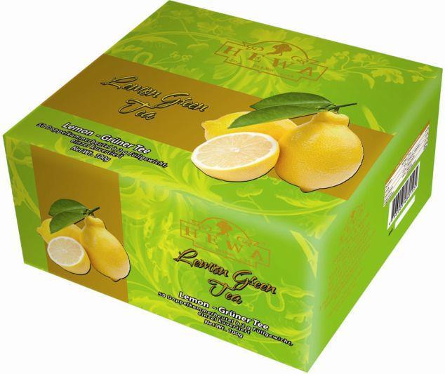 Grüner Tee Lemon  100 Beutel x 2g / 200g