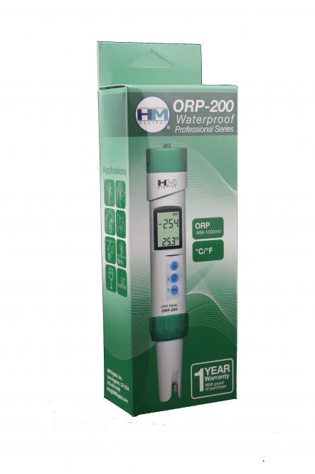 HM Digital ORP/Redox und Temperatur Tester