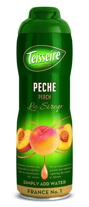 Sirup Teisseire Pfirsich 60 cl