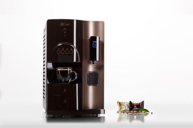 Wasseraufbereitungsanlage mit Kaffeemaschine