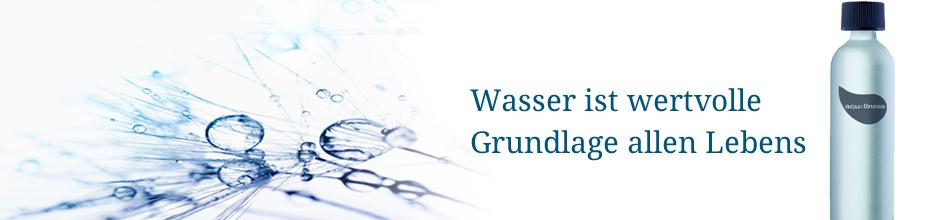 Banner Wasser